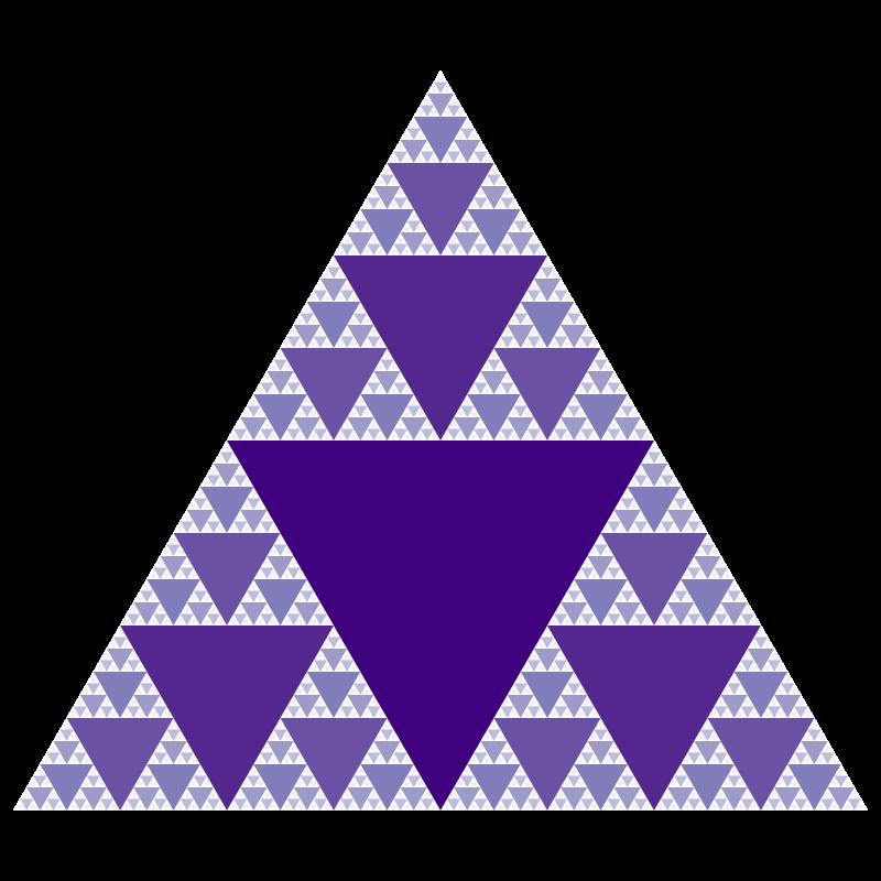 Images of Mathematics Sierpinski Triangle Fractal SC – Sierpinski Triangle Worksheet